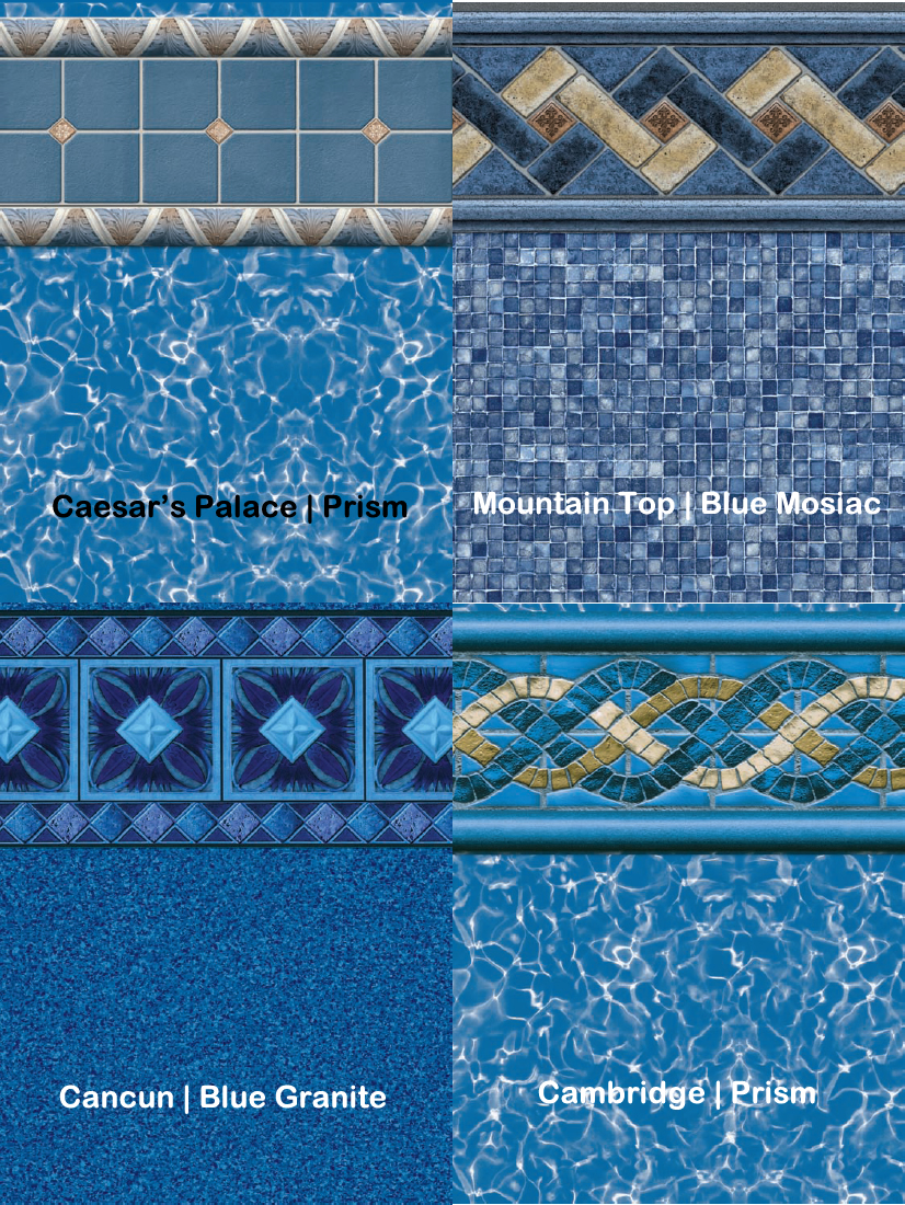 Oasis Liners for swimming pools from Parker Pools