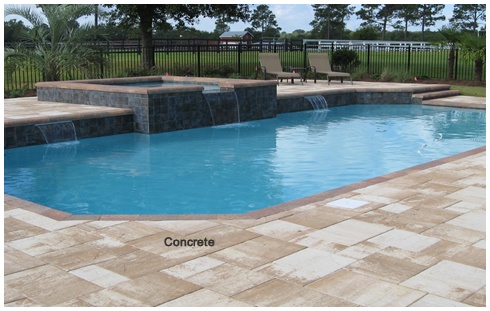 Wilcox concrete pool by Parker Pools